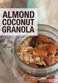Easy and yummy granola.