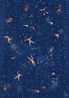 Joanne Ho's Paintings Celebrate the Joy of Swimming