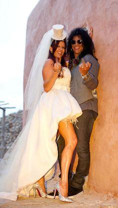 Roqueiros tb casam!
