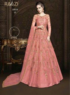 Lehenga Anarkali, Long Choli Lehenga, Anarkali Dress, Anarkali Suits, Silk Lehenga, Silk Dupatta, Designer Anarkali, Designer Gowns, Designer Wear