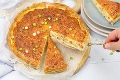 Quiche Lorraine Quiche Lorraine, Slimming World Quiche, A Food, Good Food, Spinach Quiche, Frittata, Easy Quiche, Salads To Go, Savory Tart