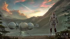 Oblivion Concept Art by Andree Wallin | CG Daily news