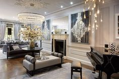 Luxury interior inspiration incredible living room of your dreams Luxury Home Decor, Luxury Interior Design, Interior Exterior, Decoration Inspiration, Interior Inspiration, Decor Ideas, Urban Deco, Elegant Living Room, Living Room Interior