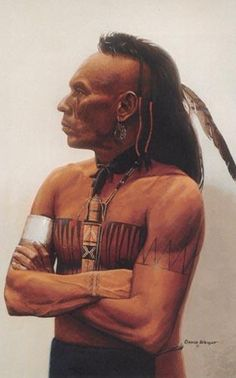 This Hairstyle Was Typical For A Mohawk Man Hanblechiadesigns Bandanas Nativeamericanbandanas Native American