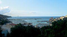 Castellamare del Golfo panorama Sicily