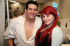 Ariel and Eric cosplay