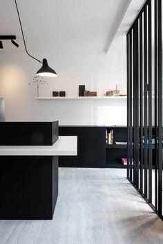 Office of Interior Designer Steven van Dooren - Floor in Muzillac veine - agripa fine by Hullebusch