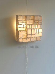 Prachtige lamp gemaakt door kunstenaar bij Zinderin in den Haag