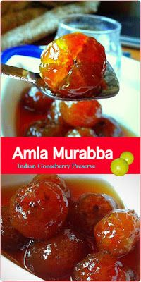 How to make Amle Ka Murabba, Recipe of Indian Gooseberry Preserve, Amla Ka Murabba, Amla murabba is an ayurvedic medicine and a healthy delight for everyone! Amla Recipes, Ayurvedic Recipes, Veg Recipes, Indian Food Recipes, Healthy Recipes, Vegetarian Lunch, Vegetarian Cooking, Vegetarian Recipes, Gooseberry Recipes Indian