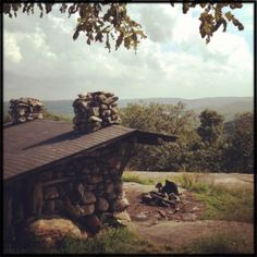 Lean-tos of Harriman State Park -- including beautiful Tom Jones shelter -- are ideal refuges from New York City life, and for sleeping under the stars.