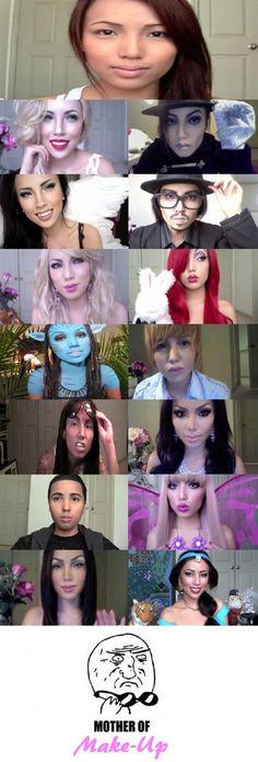 Amazing Power of Makeup