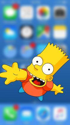 #simpson #homero #wallpapersimpson #bart Iphone, Bart Simpson, Pikachu, Wallpaper, Fictional Characters, The Simpsons, Wallpapers, Wallpaper Desktop, Fantasy Characters