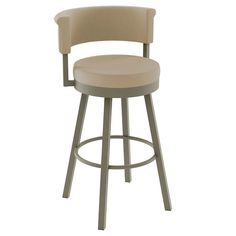 Bring a sleek, modern style to your dining space with the Rosco Swivel Metal Counter Stool from Amisco. This modern counter stool keeps things comfortable. Steel Furniture, Bar Furniture, Quality Furniture, Modern Counter Stools, Swivel Counter Stools, Bar Counter, Metal Stool, Metal Bar Stools, Contemporary Bar