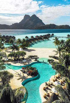 visit_borabora 🌈 Enjoying some of Bora Bora Magic! Popular Honeymoon Destinations, Honeymoon Places, Best Honeymoon, Vacation Places, Dream Vacations, Vacation Spots, Places To Travel, Travel Destinations, Places To Visit