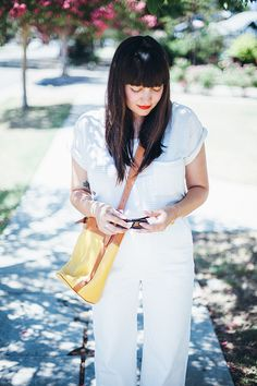 outfit: summer whites - calivintage