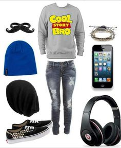 Cute swag outfits, tomboy outfits, teenage girl outfits, new outfits, outfi Tomboy Outfits, Neue Outfits, Cute Teen Outfits, Teenage Girl Outfits, Tomboy Fashion, Fashion Moda, Preppy Outfits, Outfits For Teens, Teen Fashion