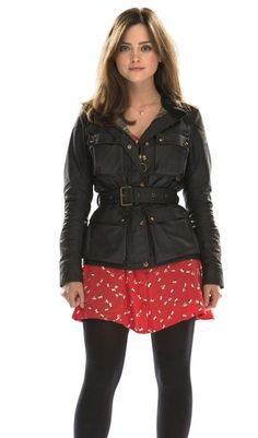 Doctor Who 50th Anniversary Special Clara Oswald Four Pockets Jacket