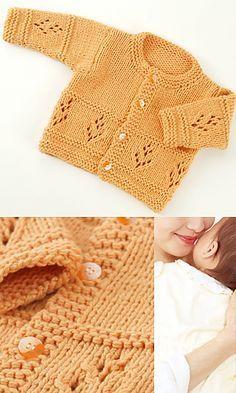 Cosy Baby Cardigan 71528 Knitt  