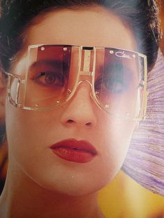 Vintage Cazal Sunglasses Ads, Catalogs and Promo Stuff from the Cazal Sunglasses, Luxury Sunglasses, Novelty Sunglasses, Sunglasses Women, Trending Sunglasses, Timeless Fashion, 80s Fashion, Fashion 2018, Vintage Fashion