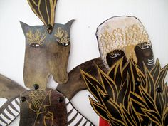 Hybrid Hinged Beasts Articulated Paper Dolls V6 / by benconservato