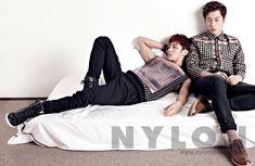 Doo Joon and Gi Kwang - Nylon Magazine December Issue '13