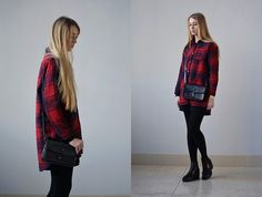 Get this look: http://lb.nu/look/7996638  More looks by Lisa Filonenko: http://lb.nu/lisa03  Items in this look:  Shirt, Bag, Pull & Bear Boots   #casual #chic #street