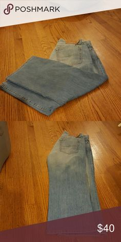 LUCKY BRAND JEANS Hard to find easy Rider crop Lucky Brand Jeans Ankle & Cropped
