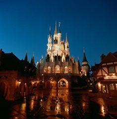 Walt Disney World - Cinderella's Castle - A Girl Can Dream
