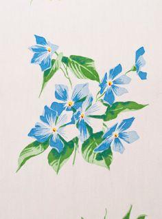 Vintage Wilendur Tablecloth Springtime by LovelyLinensandMore