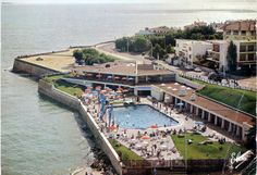 carte postale piscine Royan