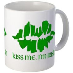 Personalised first easter baby t shirt easter baby easter and kiss me im irish green lips mug kiss me i negle Choice Image