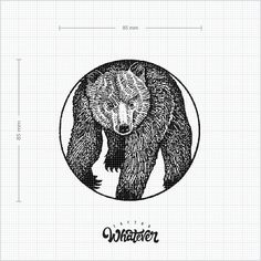 Hand-drawn geometric bear temporary tattoo. Logo is only for copyright, will be removed for product. Available in 2 size:  Small: 45*45 mm (set of 2) Large: 85*85 mm (only 1 tattoo) * Custom prints and designs available  ---------------------------------------------------  * Your favourite tattoos are sold in pairs to share! * Safe & non-toxic * Lasting on average 2-7 days * Fun for all ages *Join our model team today to have newtest tattoo design for F.R.E.E. (Australia and New Zealand…