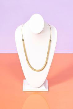 Wrapped Chain Necklace #fashion #FashionCherry