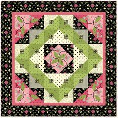 Elizabeth's Letters - Free quilt pattern