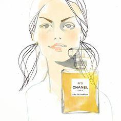 #illustration #instaart #drawing #sketch #ink #pen #chanel #perfume #wip | Use Instagram online! Websta is the Best Instagram Web Viewer!