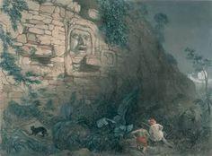 Frederick Catherwood pyramid kinich kakmo Izamal Yucatan