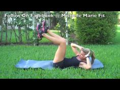 Exercises To Lose The Lovehandles!! This is a great Workout For Women to do for the abs and obliques. Just 2 exercises and you don't need any equipment.
