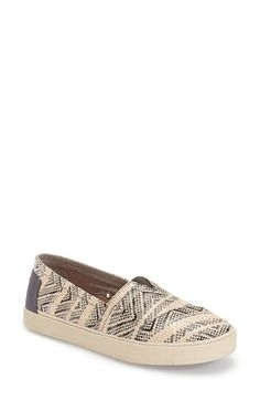 TOMS 'Avalon' Woven Slip-On (Women) available at #Nordstrom