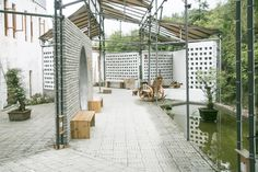 Gallery of Temporary Workshop & Recreation Centre of Qianyi Farm / Big Smallness Studio + Wuhan ADAP Architects - 6