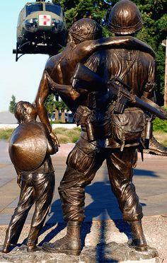 Vietnam Memorial in Canby Oregon Vietnam War Photos, Vietnam Vets, Statues, Portland, Canby Oregon, Vancouver, Vietnam Veterans Memorial, American Soldiers, American History