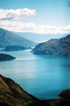 Lake Wanaka from Mt. Roy, New Zealand. | Flickr - Photo Sharing!