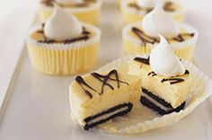 OREO Mini Cheesecakes