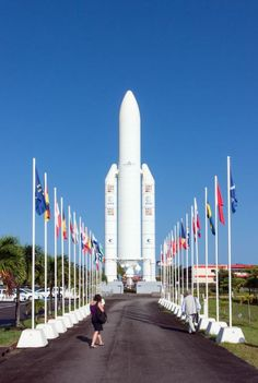 Guiana Space Centre, French Guiana - by Alexander Stirn Barbados, Jamaica, Central America, America 2, Latin America, Beautiful Places To Visit, Oh The Places You'll Go, Honduras, Bolivia