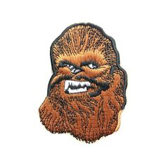 Star Wars Chewbacca Patch Embroidered Movie Iron On Sew On Patches patch patches iron on patch sew on patch badge patch movie patch Star Wars Patch Star Wars Chewbacca Chewbacca patch 3.69 USD