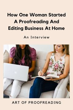 In this post, I interview Sandra, who started an editing business at home. You'll learn how she used her proofreading and copyediting training to work as a content editor, how she found her first client, and what her typical day is like. Remember to sign up for the FREE training masterclass to start your own freelance editing business! how to start a business | career ideas | how to make money from home