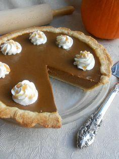 Pumpkin Spice Latte Pie