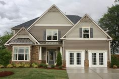 siding colors with brown roof and tan brick - Google Search