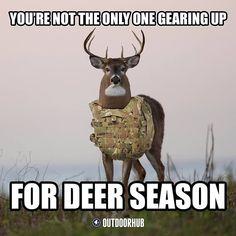 Deer Hunting Memes, Deer Meme, Funny Hunting Pics, Archery Hunting, Hunting Signs, Hunting Camo, Hunting Stuff, Women Hunting, Coyote Hunting