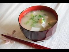 Miso Soup Recipe - Japanese Cooking 101 - YouTube Great channel! A lot of Japanese recipes including sweets, sushi, etc