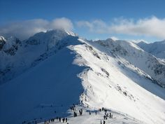 The majestic Tatra Mountains, Poland